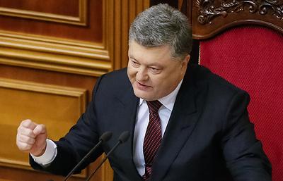 Порошенко заявил о переходе Украины от политики выживания к стратегии развития