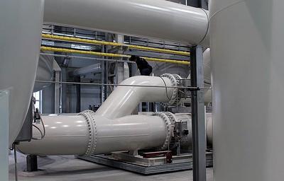 Новый кислородный цех за 800 млн рублей запустили на Среднеуральском медеплавильном заводе