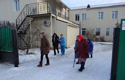 Пожарные провели в Бурятии учения в доме для престарелых и инвалидов