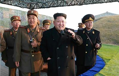 Ким Чен Ын руководил масштабными артиллерийскими стрельбами на западе КНДР