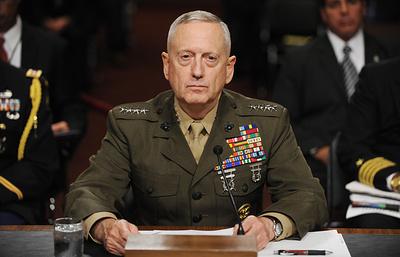Картер пообещал гладкую передачу дел Мэттису на посту министра обороны США