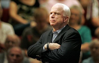 Джон Маккейн заявил, что с Россией можно говорить лишь с позиции силы