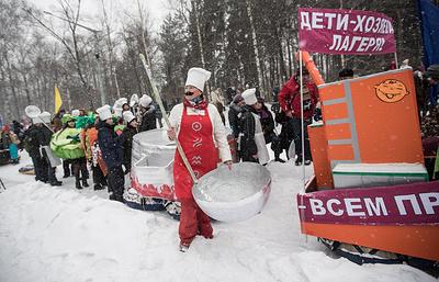 Более 500 студентов Москвы поучаствовали в спортивном празднике в честь 23 февраля