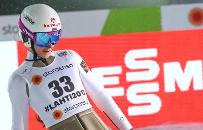 Прыгунья с трамплина Аввакумова сообщила, что пользуется помощью спортивного психолога