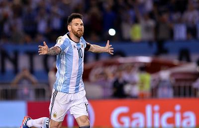 Гол Месси принес аргентинцам победу над чилийцами в матче отборf ЧМ-2018