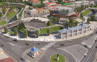 Власти ускорят реконструкцию набережной реки в центре Томска