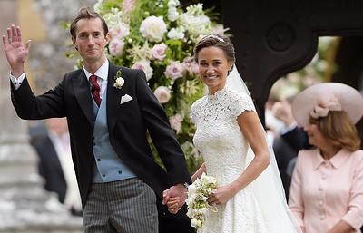 В английском графстве Беркшир состоялась свадьба младшей сестры Кейт Миддлтон