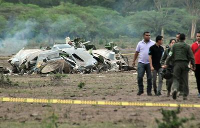 Катастрофы военно-транспортных самолетов. Досье