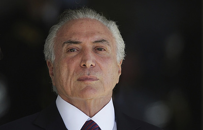 Globo: генпрокуратура Бразилии просит суд предъявить президенту обвинения в коррупции