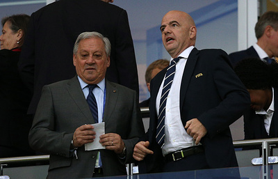 Инфантино назвал невероятным полуфинальный матч Кубка конфедераций Португалия - Чили