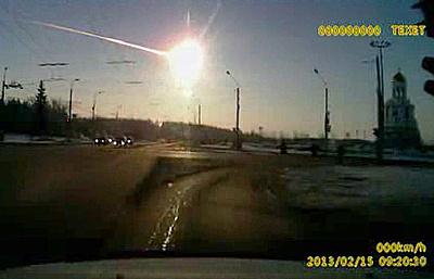 NASA на суперкомпьютере создало модель входа в атмосферу Челябинского метеорита