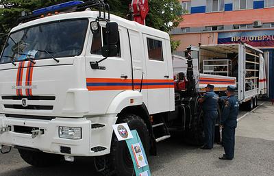 Универсальный комплекс для аварийно-спасательных работ поступил в МЧС Крыма