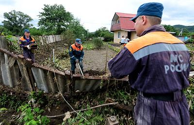 МЧС организовало ремонтные работы в Приморье после паводка