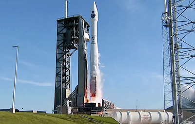 Ракета Atlas-5 вывела на орбиту спутник для обеспечения связи с МКС и телескопом Hubble