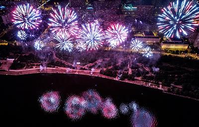 В Москве прошел третий Международный фестиваль фейерверков