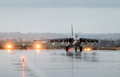 ВКС за пять суток совершили в Сирии 316 вылетов