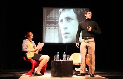 В Гаване состоялся спектакль «Я еще живой» о Владимире Высоцком