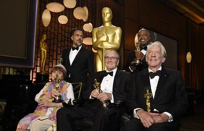 Американская академия киноискусств вручила в Лос-Анджелесе почетные «Оскары»