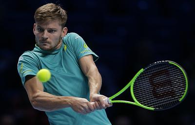 Бельгиец Гоффен вышел в полуфинал Итогового турнира ATP