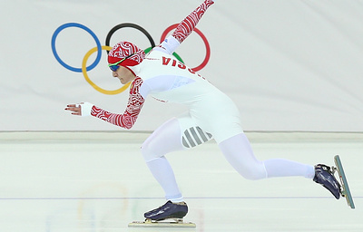 Конькобежка Голикова выиграла серебро на дистанции 500 м на этапе Кубка мира в Норвегии