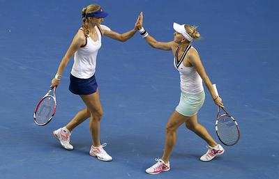Веснина и Макарова названы теннисной парой года на премии «Русский Кубок»
