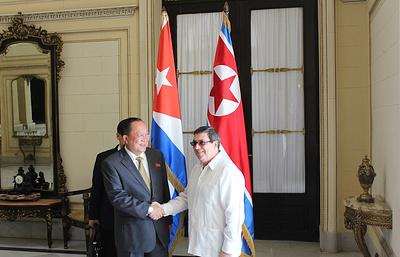 МИД Кубы: ситуацию на Корейском полуострове можно разрешить только путем диалога