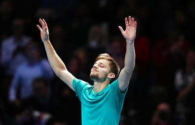 Бельгийский теннисист Гоффен победил француза Пуя в матче финала Кубка Дэвиса