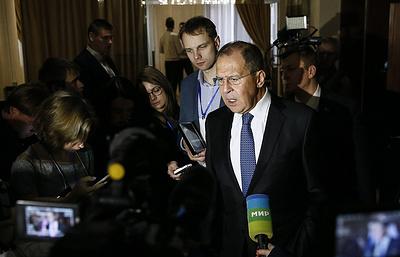 Лавров: по закону о СМИ-иноагентах РФ будет действовать «зеркально»