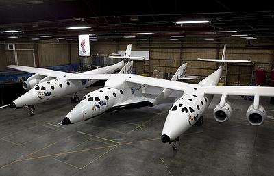 Virgin Galactic провела успешное испытание туристического космического корабля