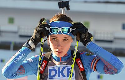 Биатлонистка Кайшева не считает, что ее незаслуженно не допускали к участию в Кубке мира