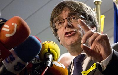 Пучдемон: с помощью новых технологий можно управлять Каталонией из Брюсселя
