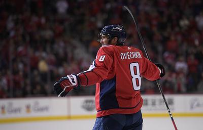 """""""Вашингтон"""" в овертайме проиграл """"Филадельфии"""" в матче НХЛ, Овечкин забросил шайбу"""