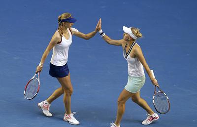 Макарова и Веснина вышли в полуфинал Australian Open в паре