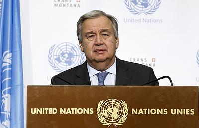 Решение об участии ООН в конгрессе в Сочи примет генсек организации