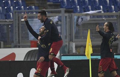 «Лацио» проиграл «Дженоа» в матче чемпионата Италии