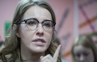 Собчак рассказала в США об отношении к НАТО и о первых шагах в случае победы на выборах