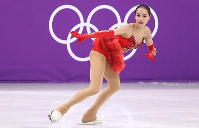 Российские фигуристы завоевали серебро командного турнира на Играх в Пхёнчхане