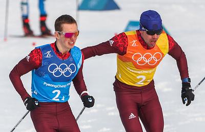 Российские лыжники завоевали серебро в эстафете на Олимпиаде
