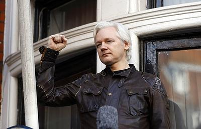 """Ассанж считает, что """"Агентство интернет-исследований"""" не повлияло на выборы в США"""