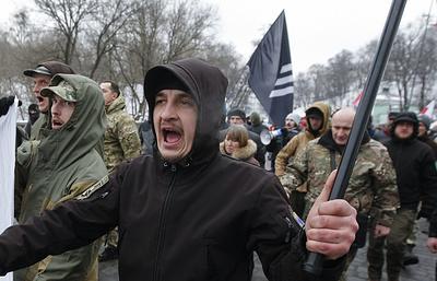 МИД РФ заявил решительный протест Киеву в связи с нападением на здание Россотрудничества