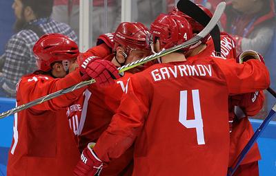 Российские хоккеисты сыграют с норвежцами на Олимпиаде в прежнем составе