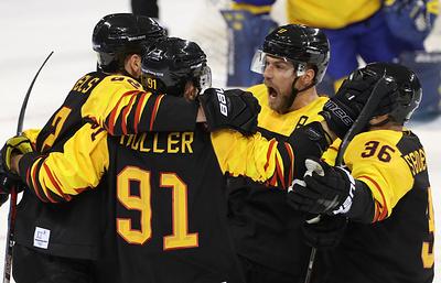 Сборная Германии по хоккею сыграет с канадцами в полуфинале Олимпиады