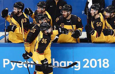 Тренер сборной Германии по хоккею заявил, что пока не думает о финале ОИ с россиянами