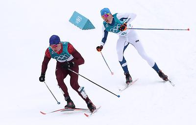 Тренер: Большунов достойно выступил на ОИ, но в масс-старте его подвели лыжи