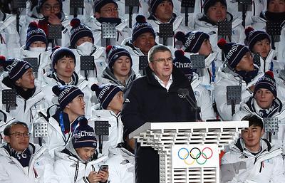 Бах: Международный олимпийский комитет обсуждает время для визита в КНДР