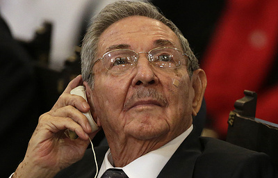 Рауль Кастро поздравил Владимира Путина с победой на выборах