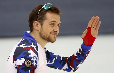Конькобежец Юсков доволен, что смог выступить в полную силу на Всероссийских соревнованиях