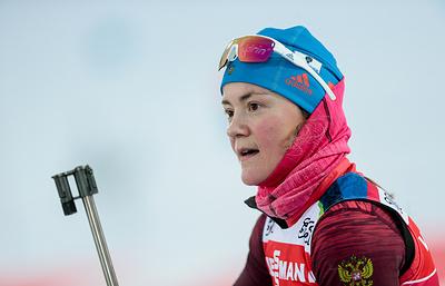 Российские биатлонистки вернули себе максимальную квоту в Кубке мира