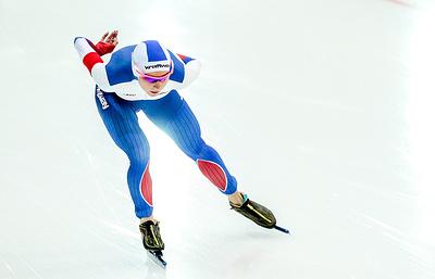 Конькобежка Казелина завоевала золото на дистанции 1500 м на Всероссийских соревнованиях