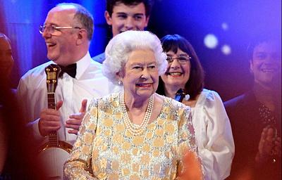 Исполнители из разных стран выступили на концерте в честь дня рождения Елизаветы II